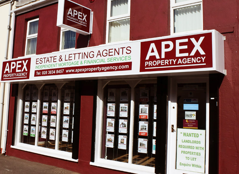 Apex Property Agency Office Exterior